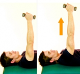 Dunsborough Physio Serratus strengthening exercise