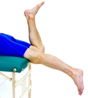 Dunsborough Physiotherapy prone knee hang exercise