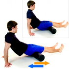 Physio Exercises - Foam Roller hamstrings