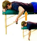 Dunsborough Physio Exercises Prone Rows