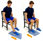 Dunsborough Physio Exercises Seated Heel Slide