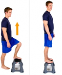 Dunsborough Physio Exercises - Step Up / Down