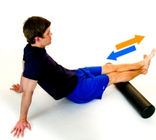 Physio Exercises - Foam Roller calf