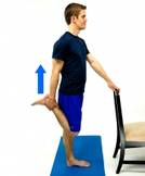 Dunsborough Physio Exercises - quad stretch