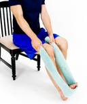 Dunsborough physiotherapist - seated soleus stretch