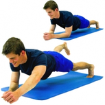 Dunsborough Physio plank alt arm leg
