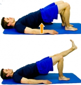 Dunsborough Physio Exercises Bridging