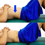 Dunsborough Physio Exercises pelvic tilt