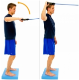 Dunsborough Physio exercises - shoulder strengthening