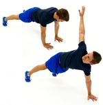 Dunsborough Physiotherapy - Plank Rotation