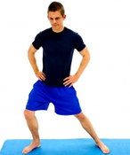 Dunsborough Physio Exercises - long adductor stretch