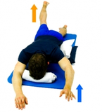 Dunsborough Physio Exercises - Prone alt arm leg