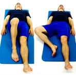 Dunsborough Physio Exercise - Figure 4 Stretch