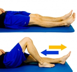 Dunsborough Physio Exercises Supine Knee Flexion