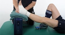 Injury management - elevation - physiotherapy advice