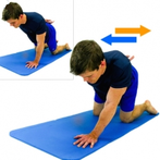 Dunsborough Physiotherapy exercises - UL weight shift