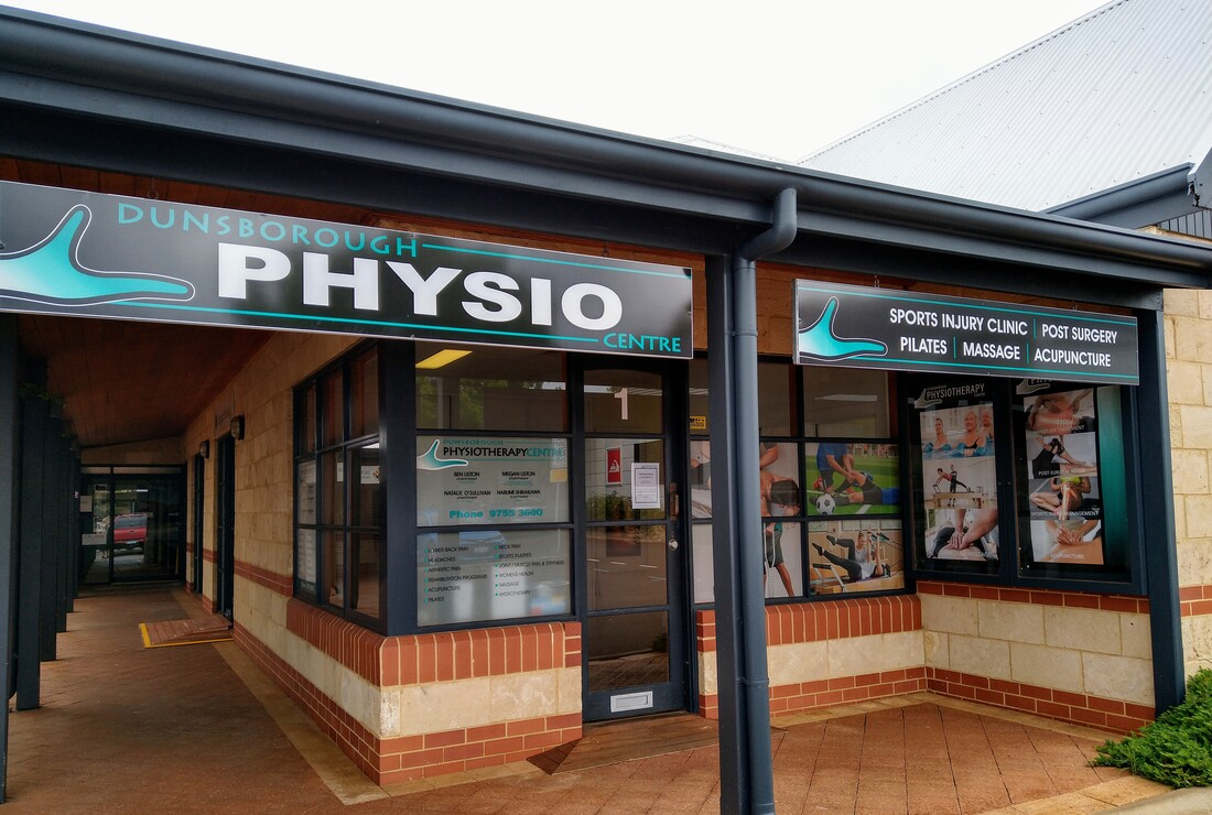 Dunsborough Physiotherapy Centre shop-front